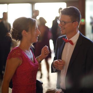 Gäste sind das beste Hochzeitsgeschenk.