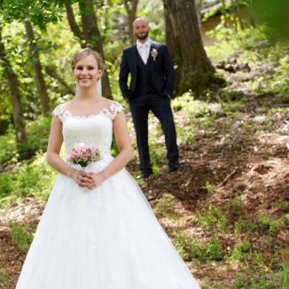 Hochzeitsfotografie mit Stil und Symmetrie.