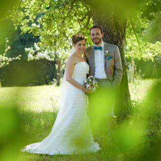 Sinnliche Hochzeitsfotografie in eigen ausgewählter Location.