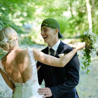 Hochzeitsfotografie sich jedes Alter